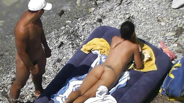 Fiesta de baño de maquillaje de casa de playa porno casero en español latino
